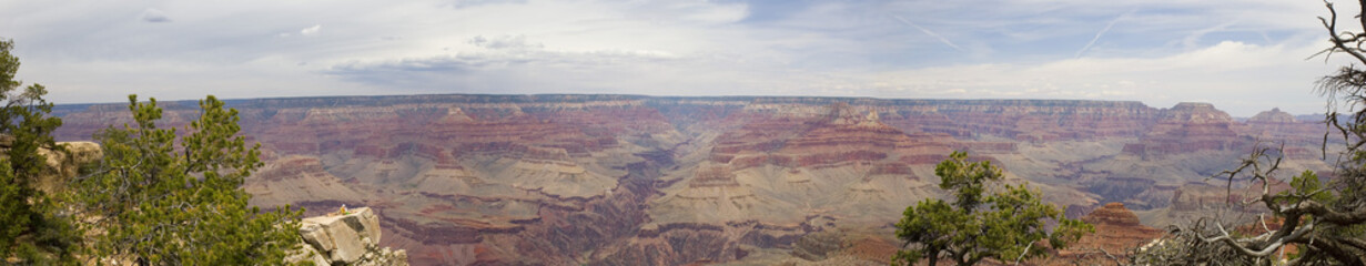 Grand Canyon Mather Point Panoramic View, Arizona