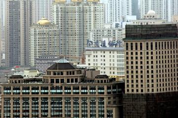 China, Shanghai: city view