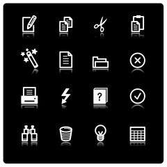 white document icons