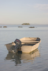 Small Boat in Tropics
