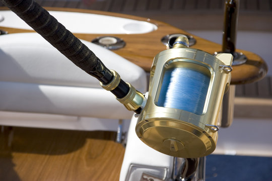 Big Game Fishing Rod and Reel
