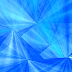 Blue cones - background