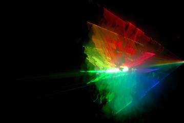 laser fumée