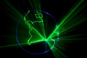 laser terre