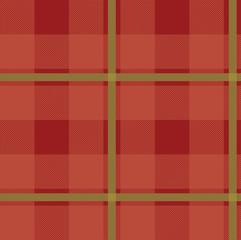 Illustrated tartan