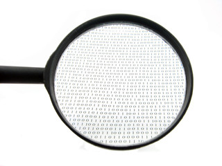 Loupe and binary codes