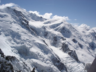 Fototapeten Alpen MONT BLANC