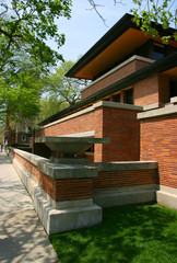 Frank Lloyd Wright's Robie House, Chicago, Illinois
