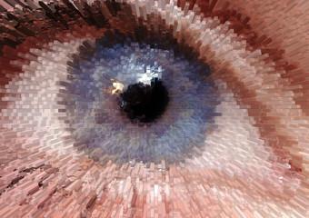 Wall Murals Pixel Pixel eye