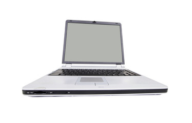 Modern, wide screen laptop
