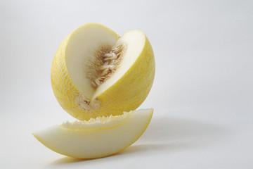 fresh ripe sliced melon