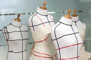 Four Taylor mannequines.