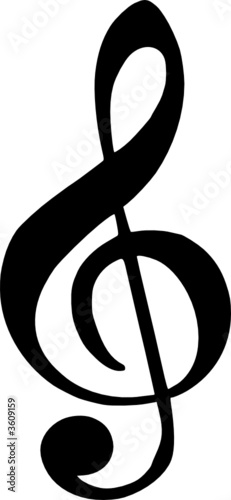 Chiave Di Violino Stock Image And Royalty Free Vector Files On