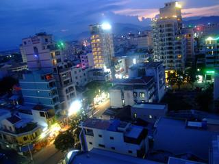ville de nuit, vietnam