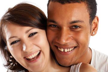 Great Inlove Couple Having Fun