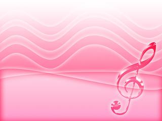 pink music background
