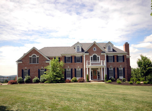 """A large """"starter mansion"""" in suburban New Jersey"""
