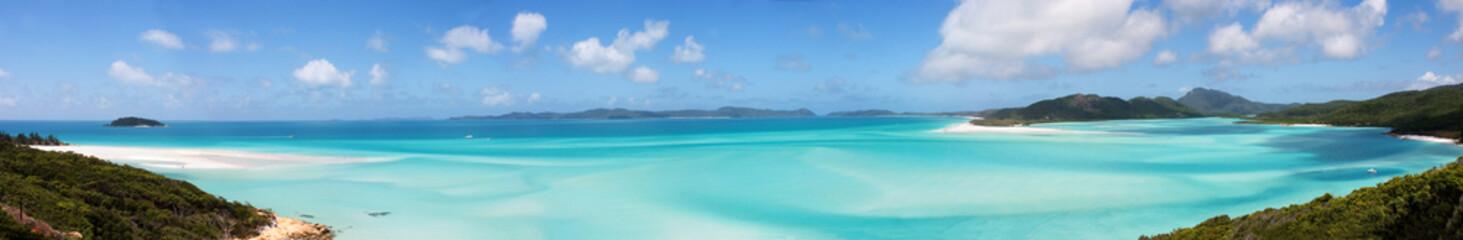 Beach and Ocean Panorama