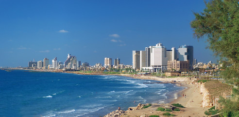 Panoramic view if Tel-Aviv