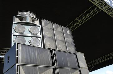Black speakers on the scene