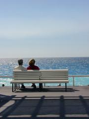 Banc - Mer - Plage, Promenade des Anglais