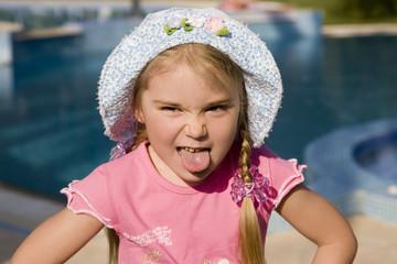 Portrait of a little girl 7