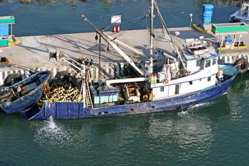 Old Fishin gBoat at Pier