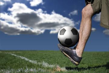 joueur de foot #3