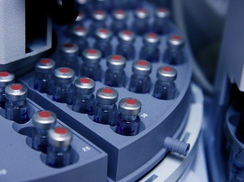 Circle of vials