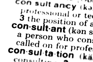 Consultant - Dictionary
