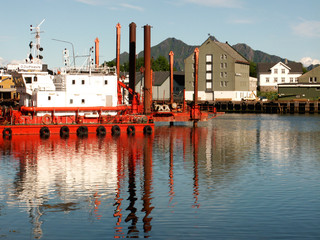 cantiere a Svolvaer