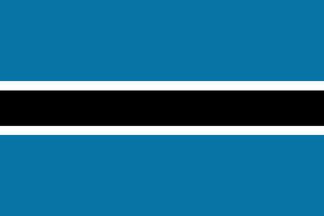 Flag - Botswana