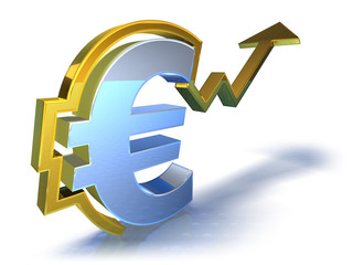 Euro en hausse