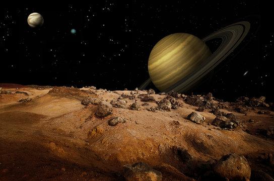 Outerspace Landscape