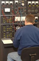 Man at Electrical Panel