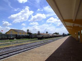 Gare ferroviaire, Phnom Penh