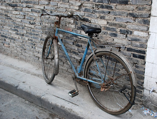 vintage bicycle, China