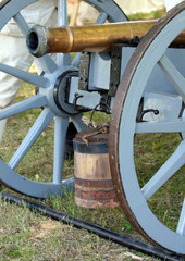 The encampment - The Battle of Monmouth in New Jersey