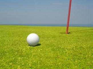 Green de golf n°4