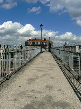 pont de la gare d'Aulnay