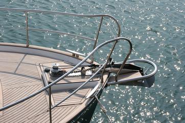 Sail boat bow