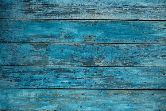 Hintergrund blaue Holzwand