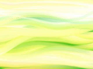 Oil Painted Canvas Background with green & yellow