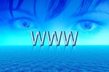 World internet.