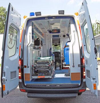 ambulance back