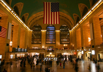 New York Grand Central Station main hall