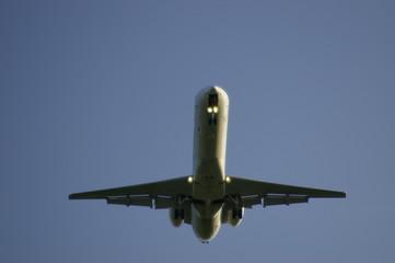Avion à l'atterissage