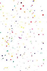 Confettis pour incrustation