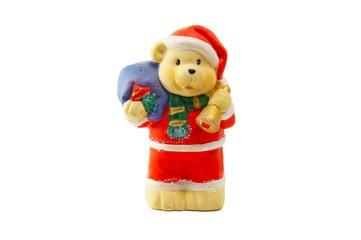 Bear - santa klaus 1