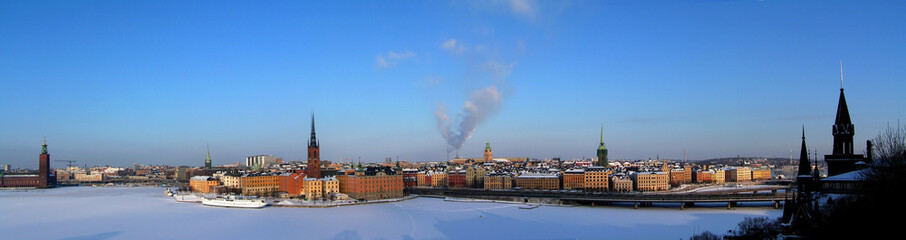stockholm Gamlastan panorama